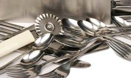 1种金属器物 免版税图库摄影