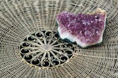1紫晶 库存图片