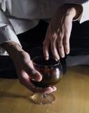 1红葡萄酒 库存图片