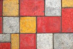 1色的铺路板纹理 免版税图库摄影