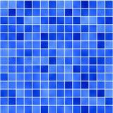 1蓝色玻璃状马赛克 皇族释放例证