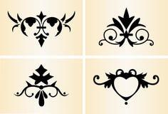 1装饰装饰品 向量例证