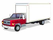1辆送货卡车 库存图片
