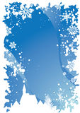 1边界圣诞节 免版税库存照片