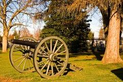 1门大炮gettysburg 免版税库存图片