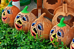 1陶瓷万圣节 库存图片