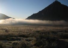 1高地薄雾苏格兰人 库存照片
