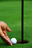 1高尔夫球 免版税图库摄影