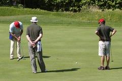 1高尔夫球 免版税库存图片