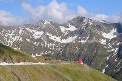 1高山没有路罗马尼亚语 图库摄影