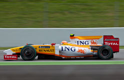 1 équipe de Renault de formule Images stock