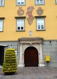 1 Österrike hausklagenfurt nr. Arkivbilder