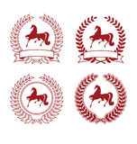 1 άλογο παλτών Στοκ Εικόνες