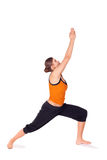 1 άσκηση θέτει τη γιόγκα γυ&nu Στοκ εικόνα με δικαίωμα ελεύθερης χρήσης