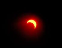1 έκλειψη ηλιακή Στοκ Φωτογραφίες