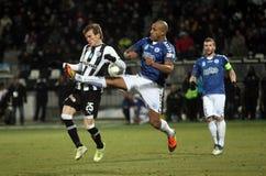 1 αγώνας ποδοσφαίρου 2 atromitos paok Στοκ εικόνες με δικαίωμα ελεύθερης χρήσης