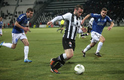 1 αγώνας ποδοσφαίρου 2 atromitos paok Στοκ Φωτογραφία