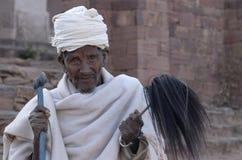 1 αιθιοπικός ιερέας Στοκ Εικόνες
