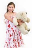 1 αντέχει τη μαργαρίτα teddy Στοκ φωτογραφία με δικαίωμα ελεύθερης χρήσης
