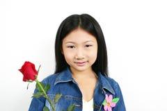 1 ασιατική νεολαία παιδιών Στοκ Εικόνες