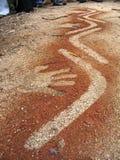 1 αυτόχθων τέχνη Στοκ Φωτογραφία