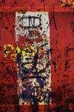 1 αφηρημένο κόκκινο grunge Στοκ Εικόνες