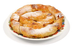 1 βουλγαρική πίτα καρότων Στοκ Φωτογραφίες