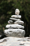 1 βράχος Tarn zen Στοκ φωτογραφία με δικαίωμα ελεύθερης χρήσης