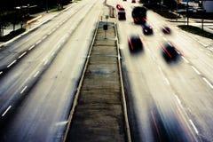 1 βροχερός δρόμος Στοκ Φωτογραφία