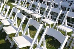 1 γάμος εδρών Στοκ Φωτογραφία