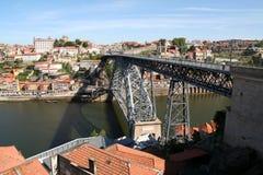 1 γέφυρα Louis Πόρτο Στοκ Εικόνες