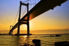 1 γέφυρα phuoc thuan Στοκ φωτογραφία με δικαίωμα ελεύθερης χρήσης