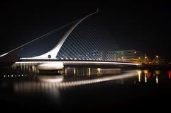 1 γέφυρα Samuel beckett Στοκ φωτογραφίες με δικαίωμα ελεύθερης χρήσης