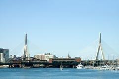 1 γέφυρα zakim Στοκ φωτογραφίες με δικαίωμα ελεύθερης χρήσης