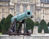 1 γαλλικός παλαιός πυροβόλων στρατού Στοκ εικόνα με δικαίωμα ελεύθερης χρήσης