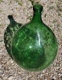 1 γυαλί πράσινο Στοκ Φωτογραφία