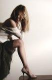 1 γυναίκα ποδιών Στοκ Εικόνες