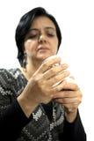 1 γυναικείος αφηγητής τύχη Στοκ Φωτογραφίες