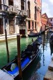 1 γόνδολα Βενετία Στοκ Εικόνες