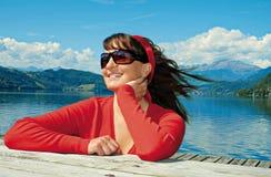 1 διαβίωση λιμνών Στοκ φωτογραφία με δικαίωμα ελεύθερης χρήσης