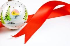 1 διακόσμηση Χριστουγέννω&n Στοκ Εικόνες