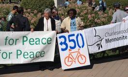1 διαμαρτυρία 350 Στοκ φωτογραφία με δικαίωμα ελεύθερης χρήσης