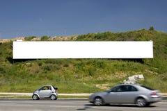 1 διαφημιστικό κενό πινάκων &delt Στοκ Φωτογραφίες