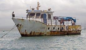 1 εγκαταλειμμένο σκάφος Στοκ φωτογραφίες με δικαίωμα ελεύθερης χρήσης