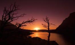 1 εθνικό πάρκο παγετώνων Στοκ Εικόνες