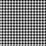 1 εικονοκύτταρο houndstooth Στοκ Εικόνα