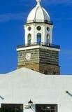 1 εκκλησία κανένα teguise Στοκ Εικόνα