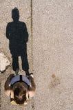 1 επάνω από τη γυναίκα Στοκ φωτογραφία με δικαίωμα ελεύθερης χρήσης