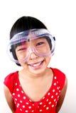 1 επιστήμη κοριτσιών Στοκ Εικόνες