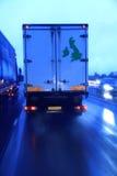 1 επιτάχυνση φορτηγών Στοκ Εικόνες